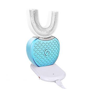 360 fokos szilikon ultrahangos elektronikus fogkefe Usb újratölthető