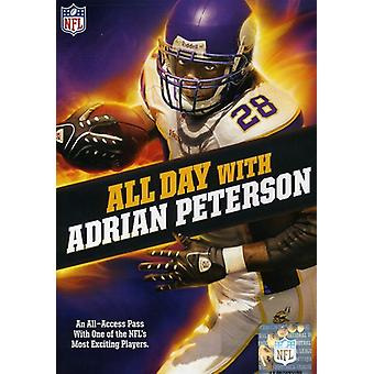 NFL-All Day with Adrian Peterson [DVD] USA import