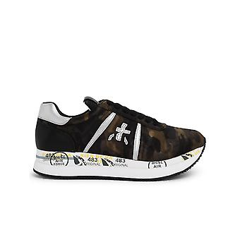 Premiata Conny5050 Women's Camouflage Leather Sneakers