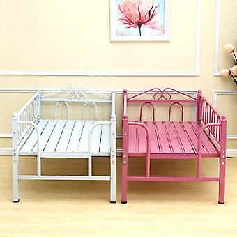 Children's Bed Guardrail Princess Widening Stitching Combination Single