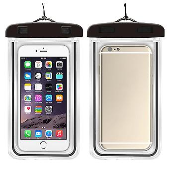 Waterproof Mobile Phone Case For Iphone Clear Pvc Sealed Underwater