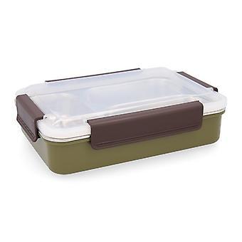 Scatola da pranzo Quid GO XTREM Acciaio inossidabile (6 x 18,5 x 7 cm)