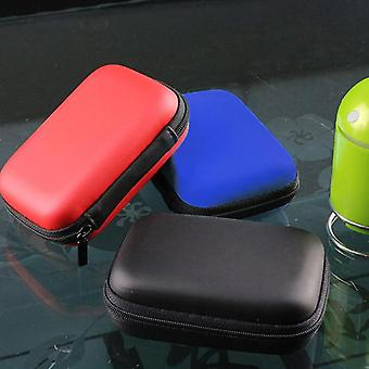 """2.5"""" Hdd Case Protect Bag Box For Wd Hard Drive Power Bank Usb Cable Charger"""