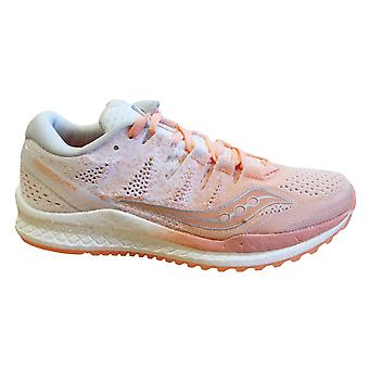 Saucony Freedom Iso 2 Peach Womens Trainers Lace Up Running Shoes S10440 37
