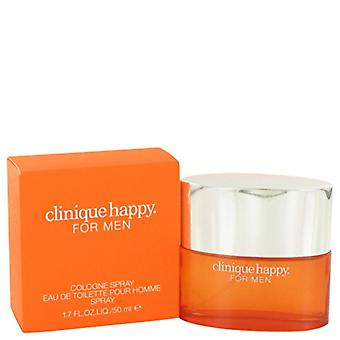 Clinique Happy Cologne Spray Eau de Toilette Spray for Men 50 ml