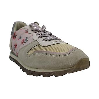 Coach Womens Mini Vintage Rose Prin låg Top Lace Up Fashion Sneakers