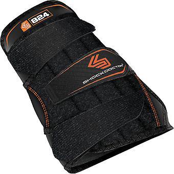 Shock Doctor Wrist 3-Strap Support - Black