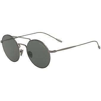 Giorgio Armani AR6072 3003/71 Matowe gunmetal/zielone okulary przeciwsłoneczne