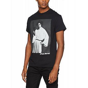 Star Wars Unisex Voksne T-skjorte Med Klassisk Leia Portrett Design