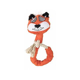Fofos Eye Fox Rope Dog Toy