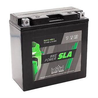 intAct YT14B-4 / 51203 Sealed Activated SLA Bike-Power Battery