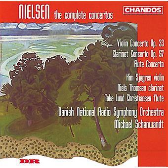 C. Nielsen - Nielsen: The Complete Concertos [CD] USA import