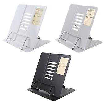 Portable Metal Adjustable Reading Book Holder