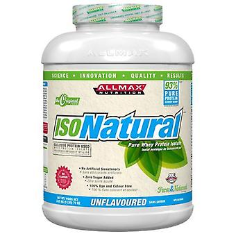 AllMax Nutrition IsoNatural Unflavored 2270 g