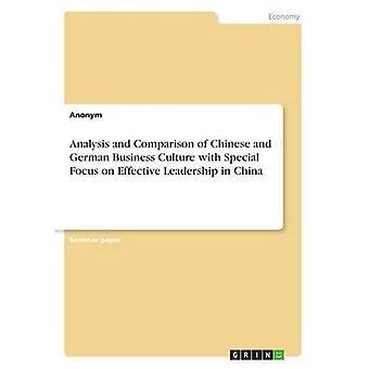 Analyse en vergelijking van chinese en Duitse bedrijfscultuur met speciale focus op effectief leiderschap in China