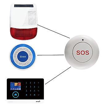 Vezeték nélküli Sos Smart Home Gate biztonsági csengő pánik vészhelyzeti gomb