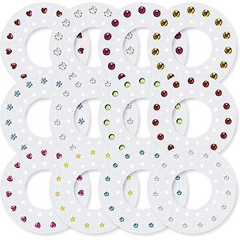 Blingers Deluxe Set Cu 180 mai multe forme culori Pietre -fete Diy Crystal