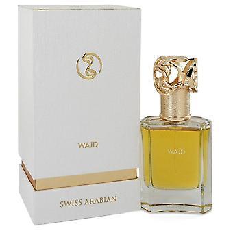 Sveitsin Arabian Wajd Eau de Parfum Spray (Unisex) mukaan Sveitsin Arabian 1,7 oz Eau de Parfum Spray