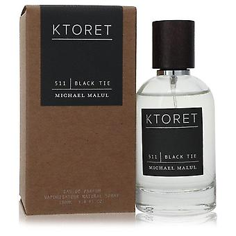 Ktoret 511 Black Tie Eau De Parfum Spray By Michael Malul 3.4 oz Eau De Parfum Spray
