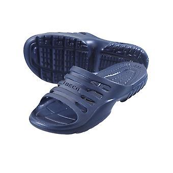 BECO Navy Pool/Sauna Slippers for Men-44 (EUR)