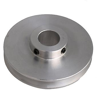 Alloy Silver One Groove Pulley 58x14MM para Motor Shalf 3-5MM PU Belt