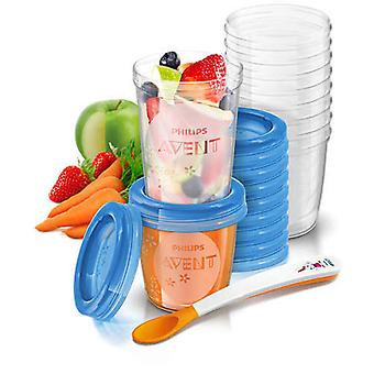 Avent Set of Food Containers