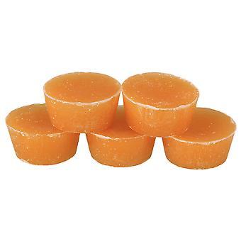 5x kosmetycznych klasy okrągła podstawa filtrowane naturalne woski pszczele bloki wosk pszczeli żółty