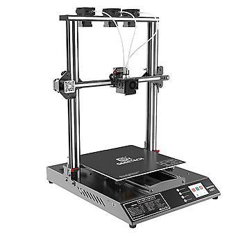 Geeetech a30t 3-in-1-out 자동 레벨링 믹스 컬러 3D 프린터 믹스 컬러 320*320*420mm 프린트 영역 필라멘트 페티텍터 fdm