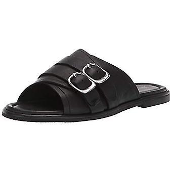 Frye Women's Tait Moto Slide Flat Sandal