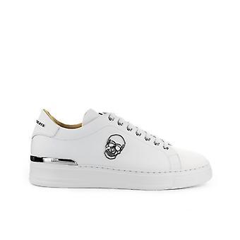 Philipp Plein Lo-top Skull Witte Sneaker
