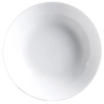 Plate set Luminarc Diwali 6 pcs White Glass (20 cm)