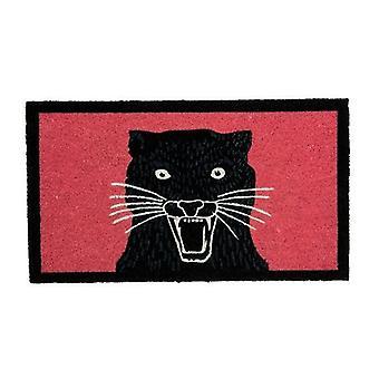matte Panther 40 x 60 cm Coconut fibre/PVC red/black