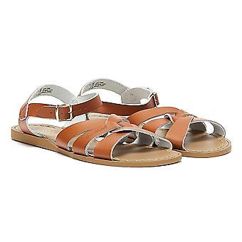 Salt Water Womens Tan Original Sandals