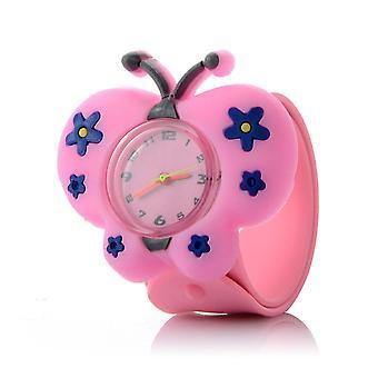 3d Симпатичные Мультфильм Резиновые Кварц Детские часы