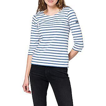 Armor Lux Marini king ''cap Coz T-Shirt, Blanc/Ozero, 44 Woman