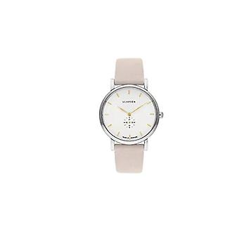LLARSEN Analogueic Watch Quartz Woman with Leather Strap 144SWG3-SSTONE18