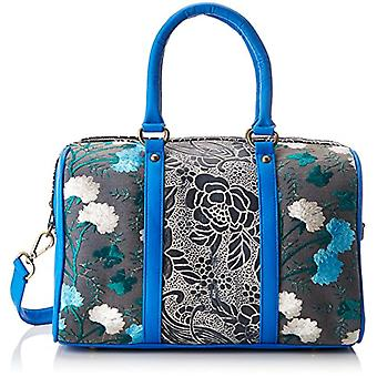 Laura Vita Domont - Women's Bowling Bags, Blau (Bleu), 15x22x33 cm (B x H T)