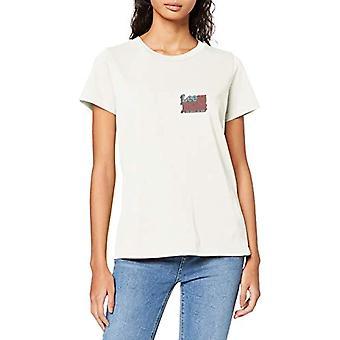 Lee Crew Neck Tee T-Shirt, Natur, L Kvinna