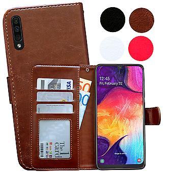 Samsung Galaxy A50 - Étui en cuir / Couverture