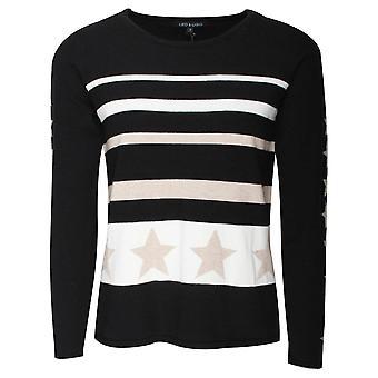 Leo & Ugo Stars & Stripes Long Sleeve Jumper