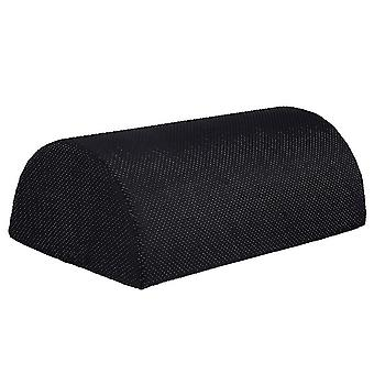 2# Black foot rest pillow, office rest and home foot rest pad az16766