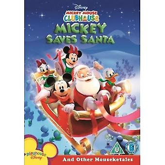 Mickey Mouse Clubhouse - Mickey Saves Santa & Other Mouseketales DVD