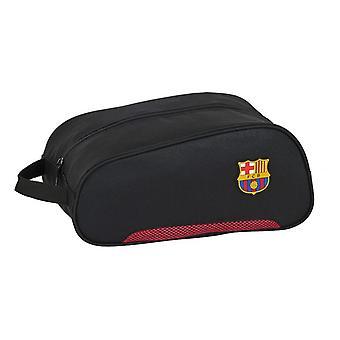 Travel Slipper Holder F.C. Barcelona Black