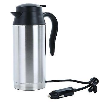 Электрический чайник 750ml 12v 24v Водный автомобиль Ван Лорри Путешествия Кемпинг Открытый 120w
