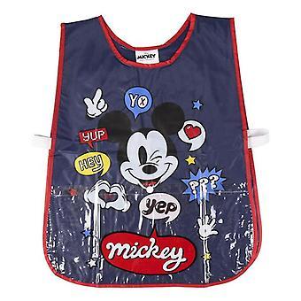 Bib Mickey Mouse Blue
