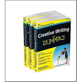 Creative Writing For Dummies Collection Creative Writing For DummiesWriting a Novel  Getting Published For Dummies 2eCreative Writing Exercises FD by Maggie HamandGeorge GreenLizzy E. Kremer