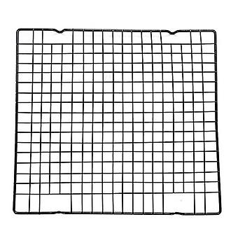 Stainless Steel Grid Wire Cookies Cake Bread Cooling Rack Safe Oven Baking