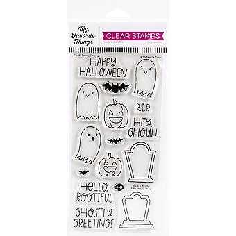 """Minhas coisas favoritas claros selos 4""""X8"""" - Saudações Fantasmagóricas"""