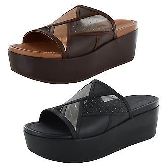 Scarpe sandalo slide Fitflop Donna Eloise Art Deco
