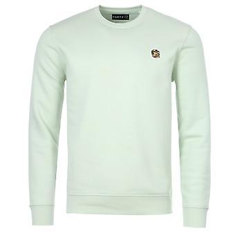 Forty Parker Organic Cotton Blend Sweatshirt - Seafoam Green